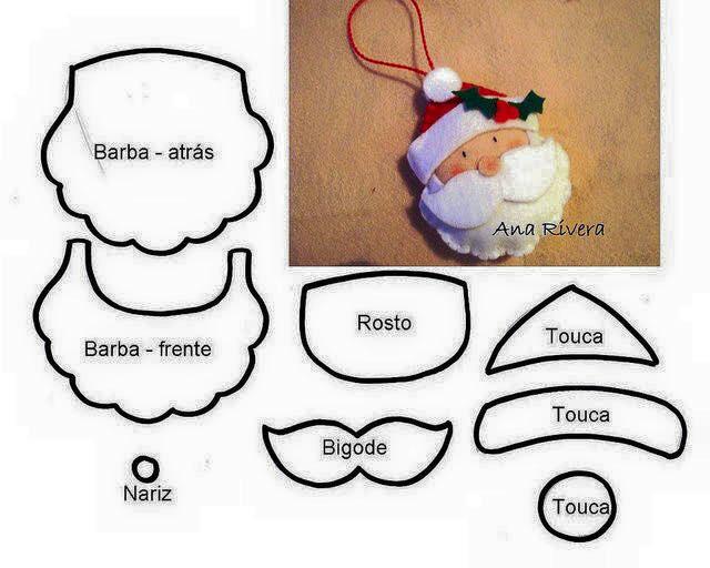 DIY Santa Claus Sewing Patterns and Ideas8