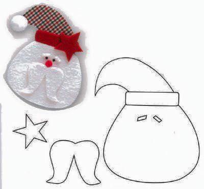 DIY Santa Claus Sewing Patterns and Ideas9