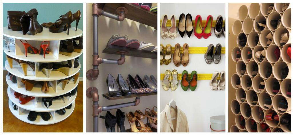 15 Best Creative Shoe Storage Ideas