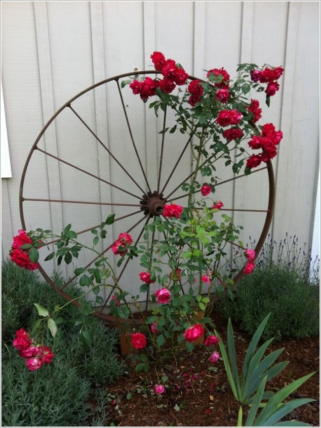 10+ DIY Trellis Ideas For You Garden