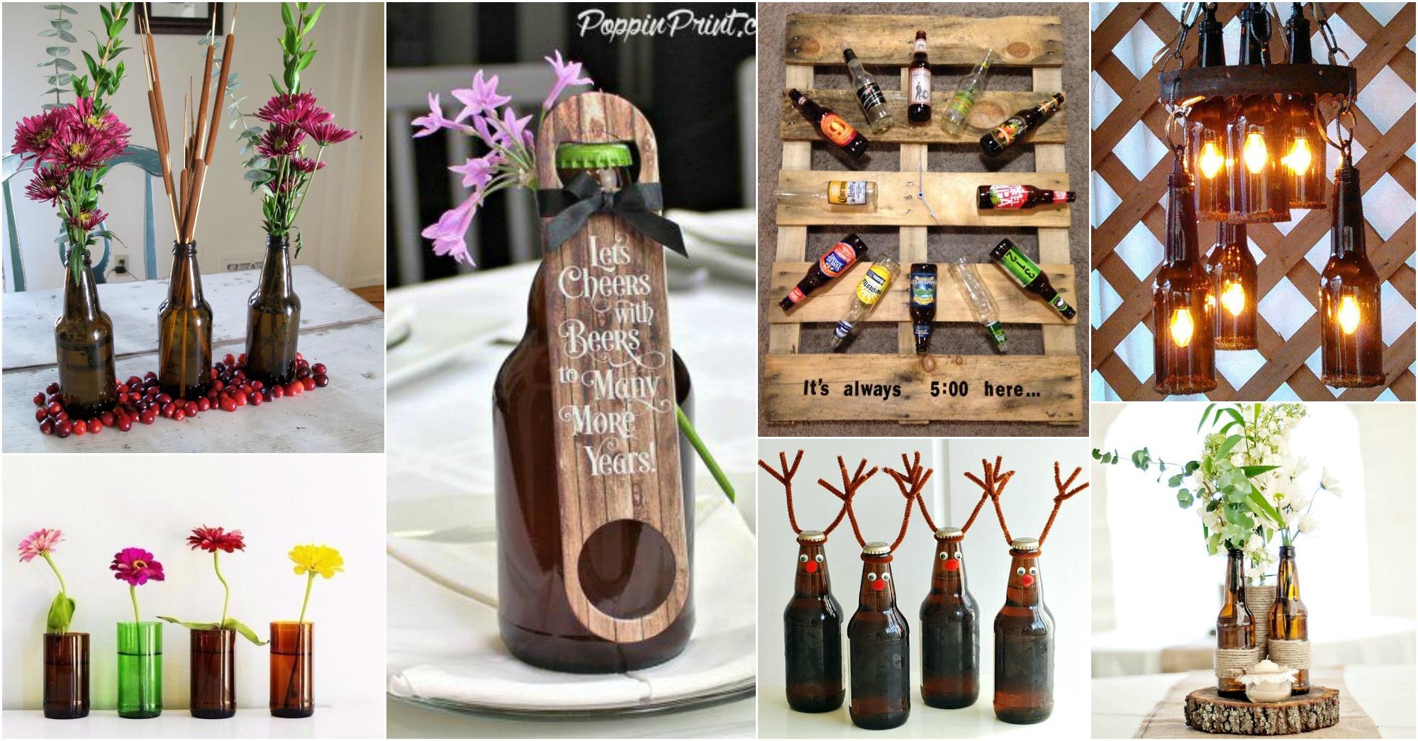 15 Creative Diy Beer Bottles Crafts