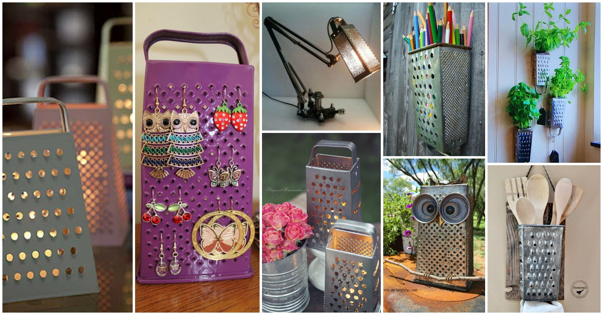 12 Fantastic Kitchen Grate Crafts