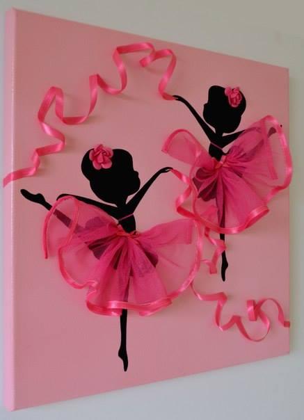 Dancing Ballerina Canvas Wall Art1