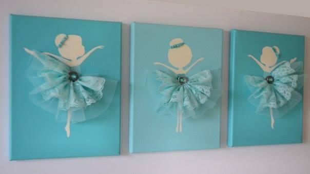 Dancing Ballerina Canvas Wall Art3