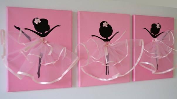 Dancing Ballerina Canvas Wall Art4