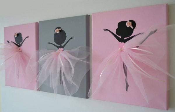 Dancing Ballerina Canvas Wall Art6 e1441854606440