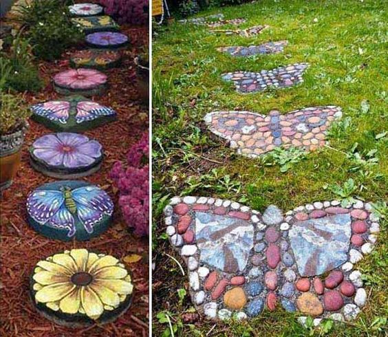 Decorative Stepping Stones 10