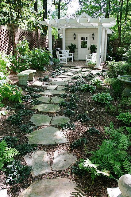 15+ Lovely Decorative Stepping Stone