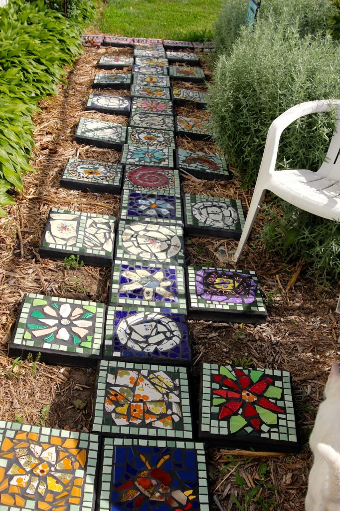 Decorative Stepping Stones 6