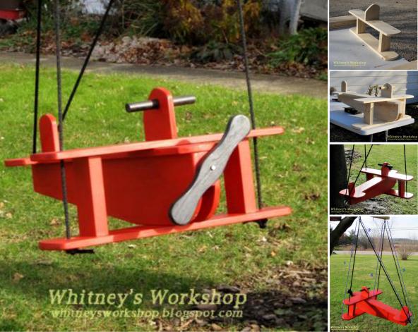 Fabulous DIY Patio and Garden Swings 12