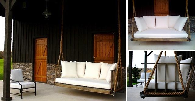 Fabulous DIY Patio and Garden Swings01