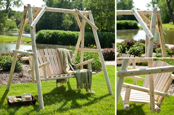 DIY Patio And Garden Swings (20+ Fabulous Ideas)