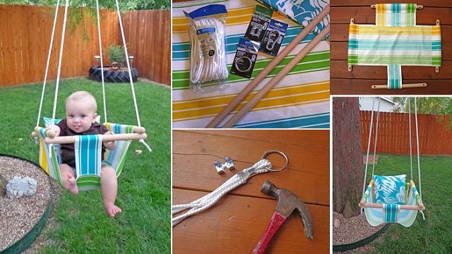 Fabulous DIY Patio and Garden Swings04