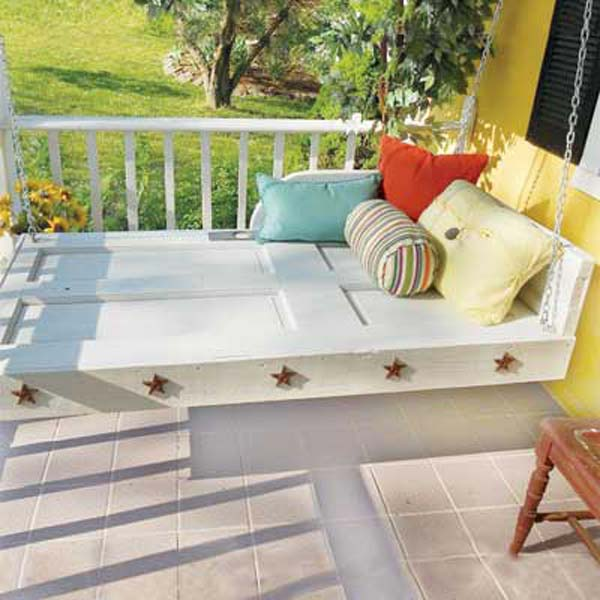 Fabulous DIY Patio and Garden Swings07