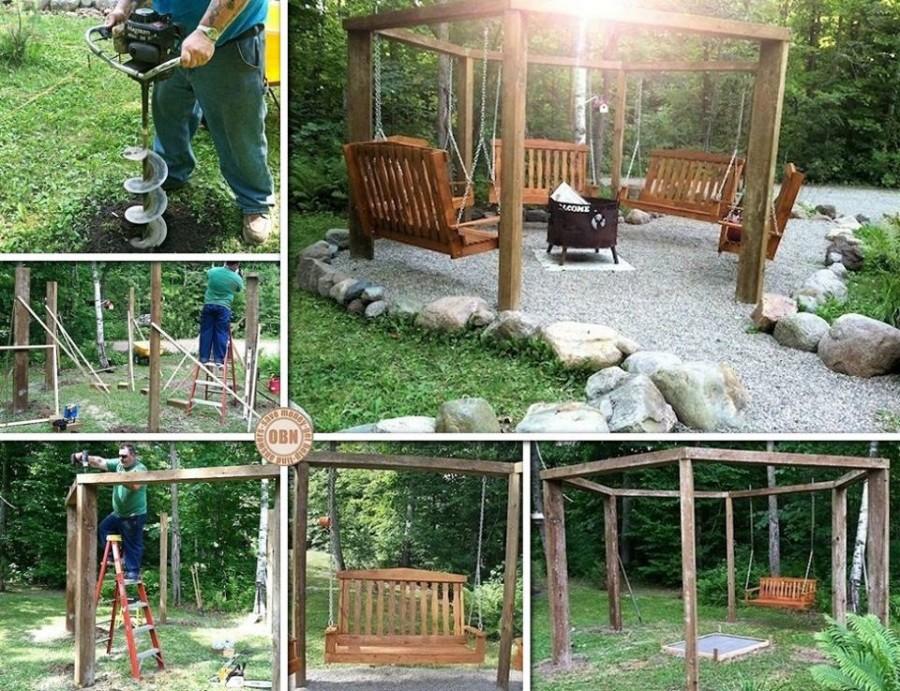 Patio and Garden Swings 20 Fabulous Ideas