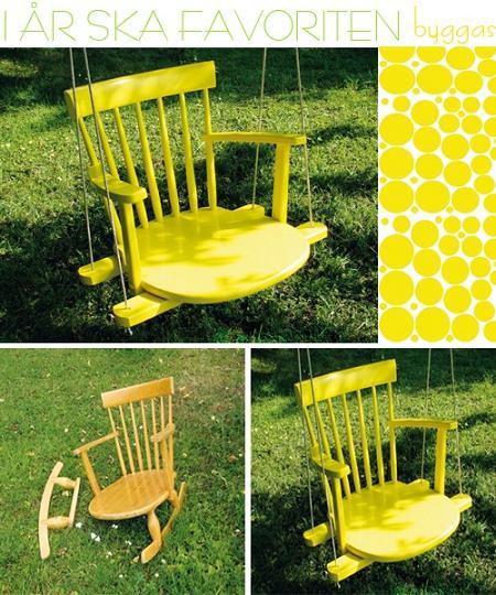 Fabulous DIY Patio and Garden Swings16A