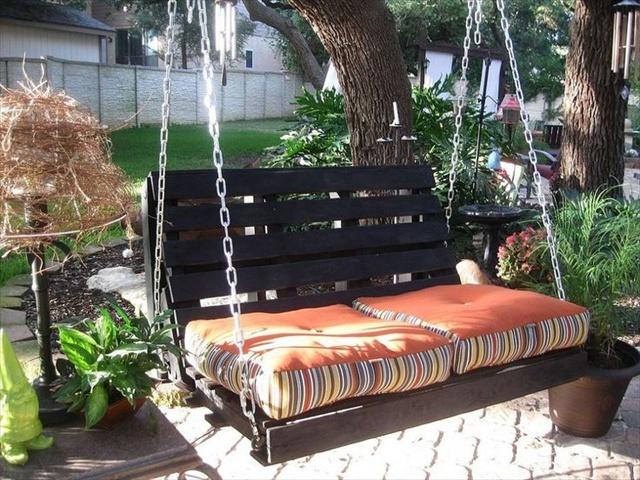 Fabulous DIY Patio and Garden Swings18