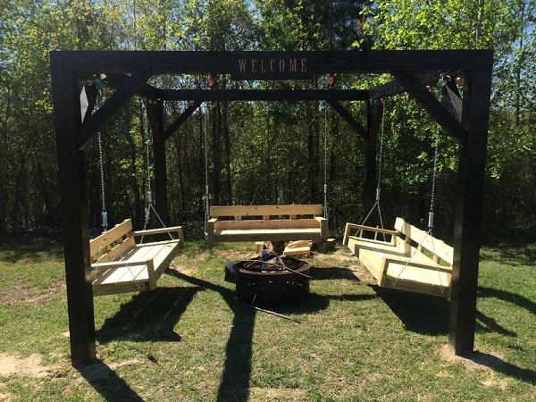Fabulous DIY Patio and Garden Swings23
