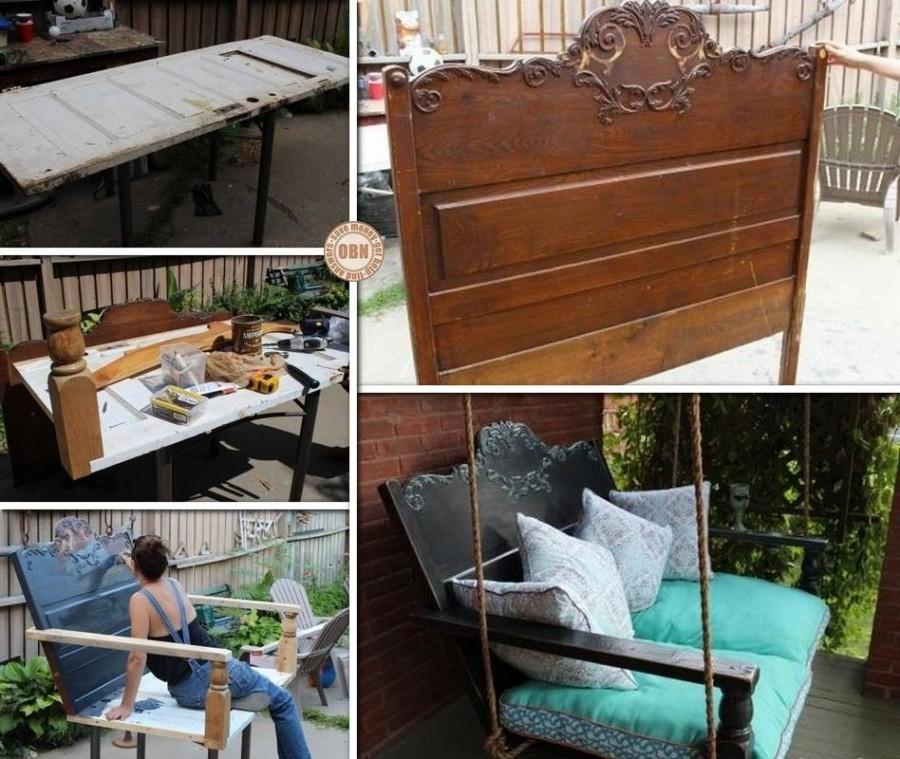 Fabulous DIY Patio and Garden Swings24
