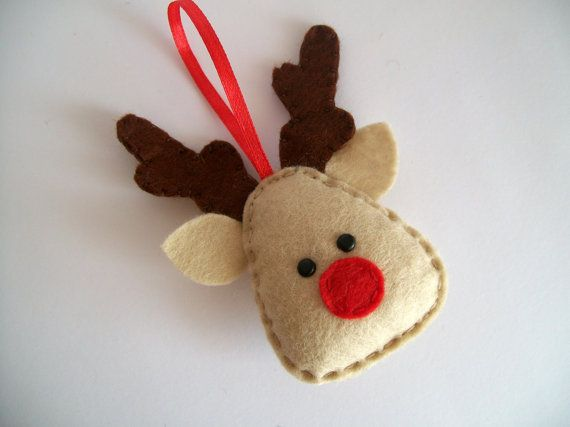 Felt Christmas Ornament Pattern6
