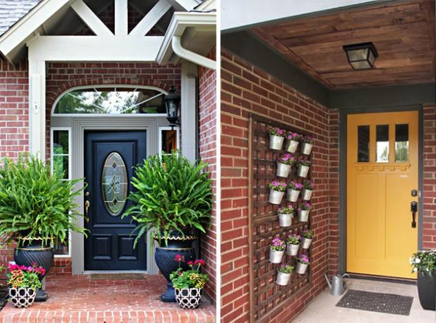 Front Door Flower Decorations 1