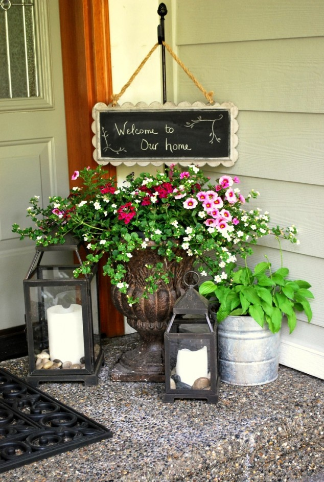 Front Door Flower Decorations 10