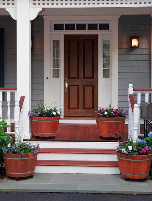 Front Door Flower Decorations 11