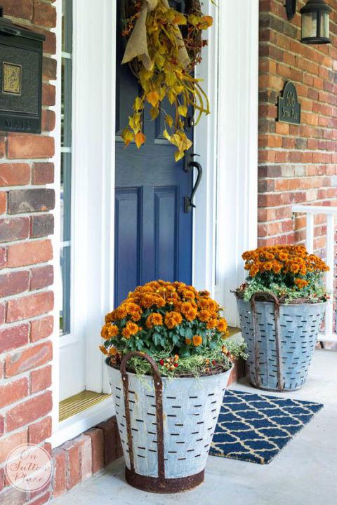 Front Door Flower Decorations 13