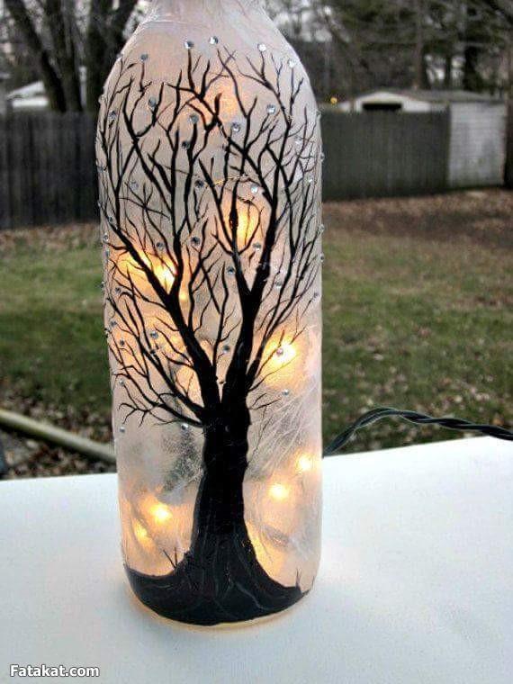 Glass Bottle Art 12