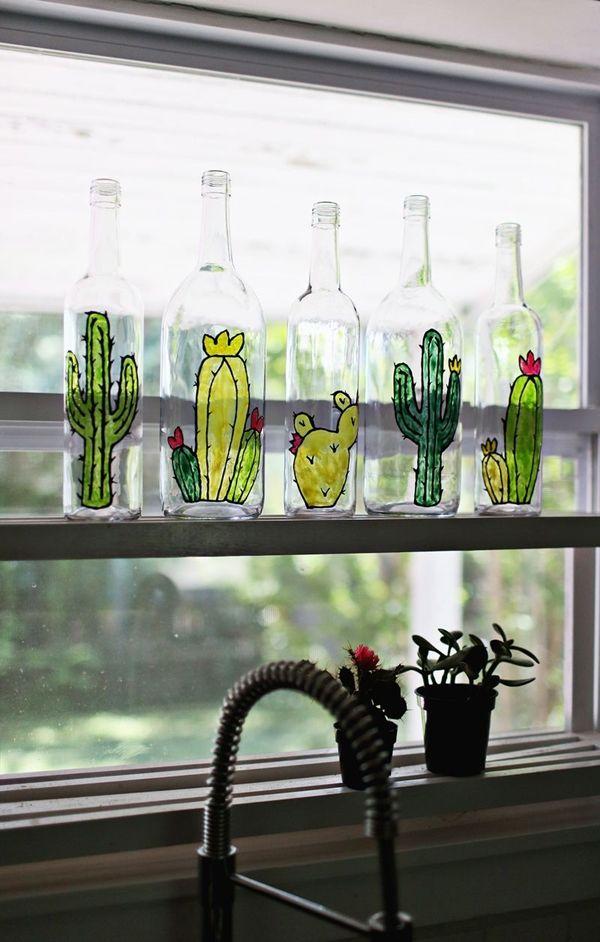 Glass Bottle Art 2