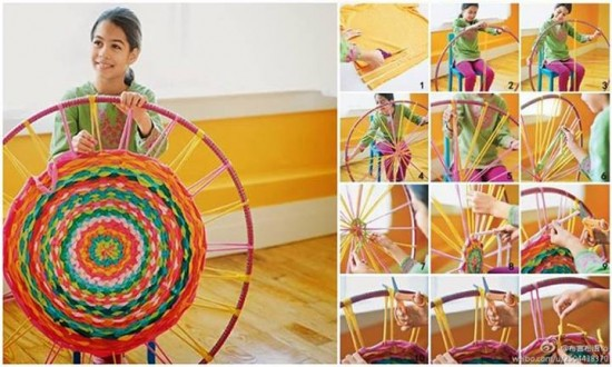 How To Weave A Hula Hoop Rug1 e1428812623956