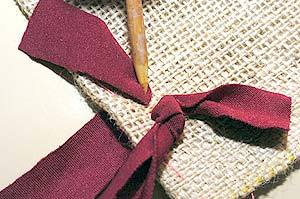 How to DIY Simple Rug from Fabric Scraps 10
