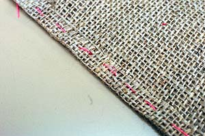 How to DIY Simple Rug from Fabric Scraps 2