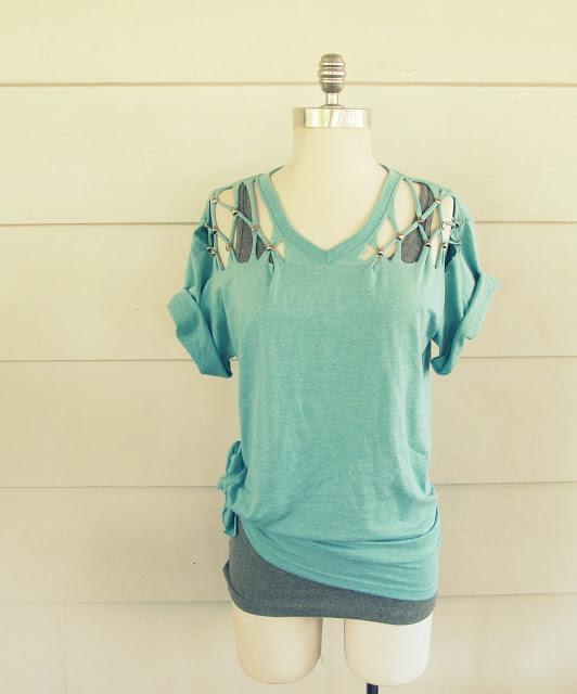 No Sew DIY Clothing 7