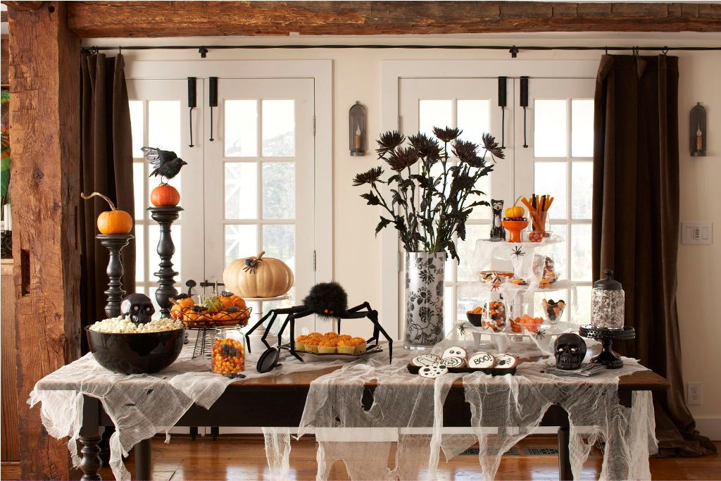 Awesome Halloween Kitchen Decorating Ideas #20 - Halloween Decorations Ideas .