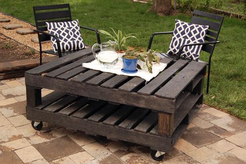 fabulous diy outdoor pallet furniture ideas and tutorials - Patio Furniture Ideas