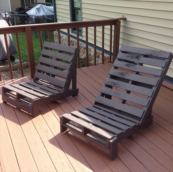 Outdoor Pallet Furniture DIY ideas and tutorials0A