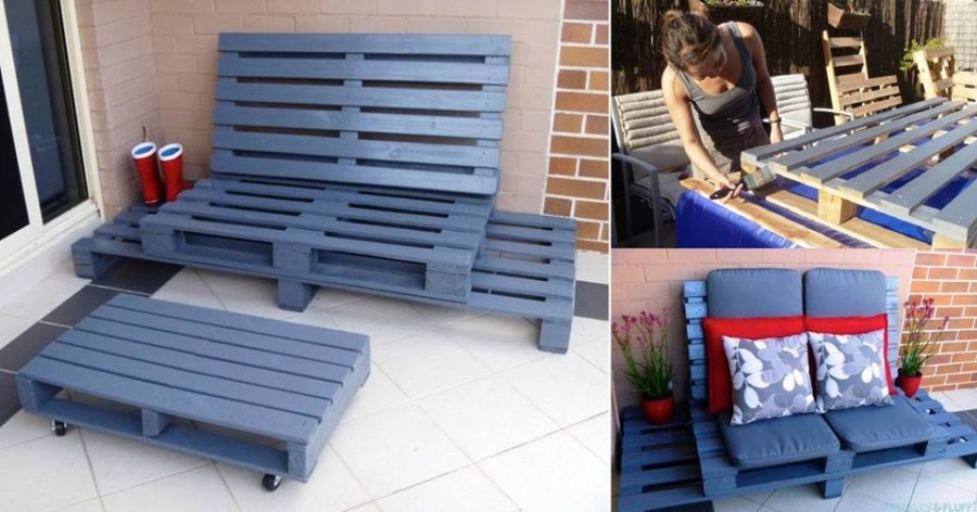 Outdoor Pallet Furniture DIY ideas and tutorials5A 1