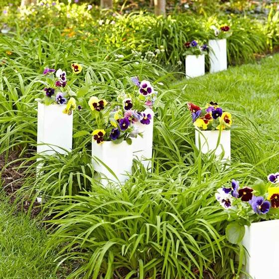 PVC Sleeve Planters for Garden
