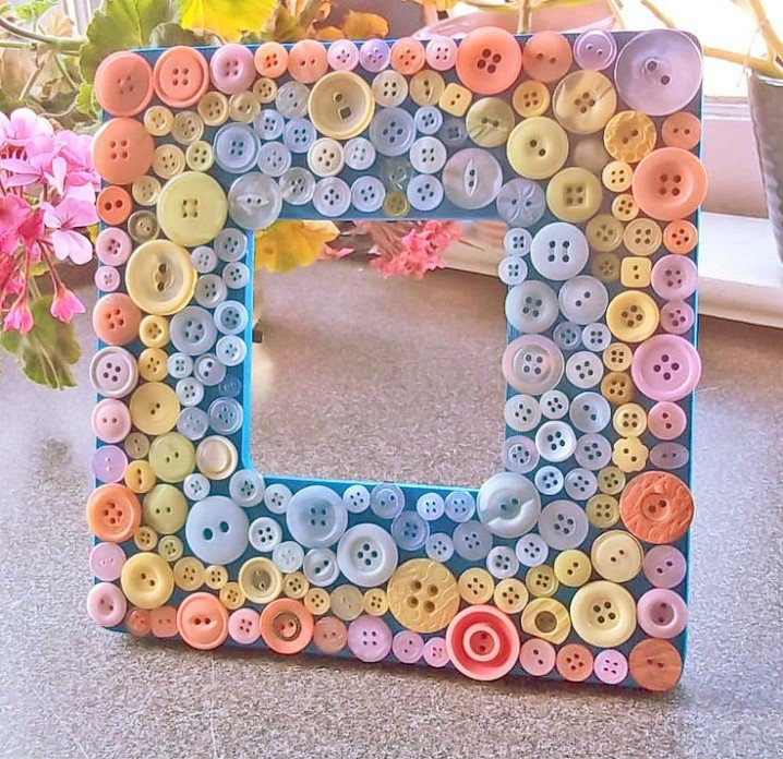 Repurpose Old Buttons 10