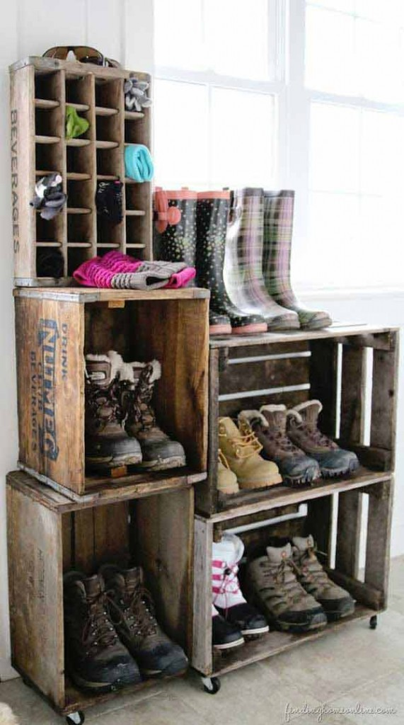 Shoe Storage Hacks 1