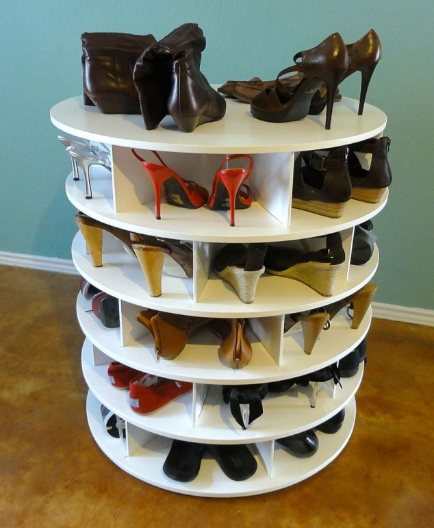 Shoe Storage Hacks 16