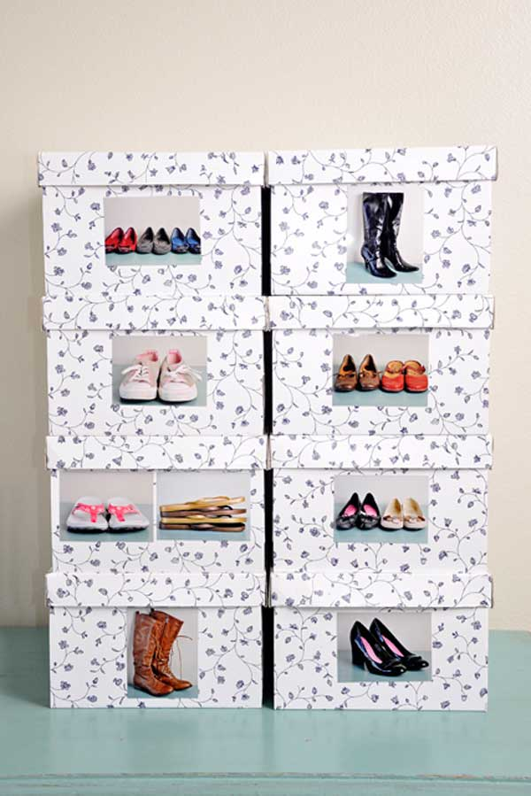 Shoe Storage Hacks 3