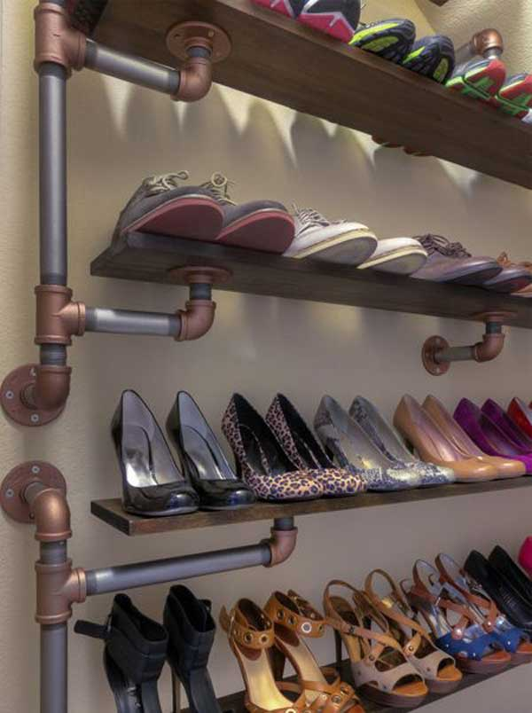 15 Diy Shoe Storage Hacks