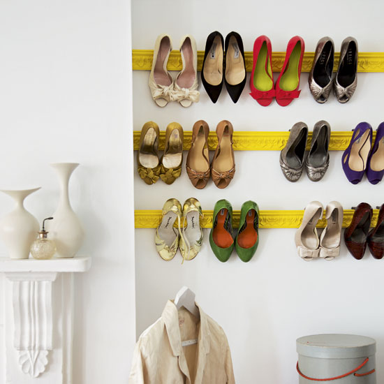 Shoe Storage Hacks 6