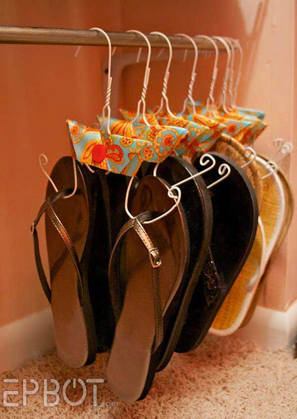Shoe Storage Hacks 8