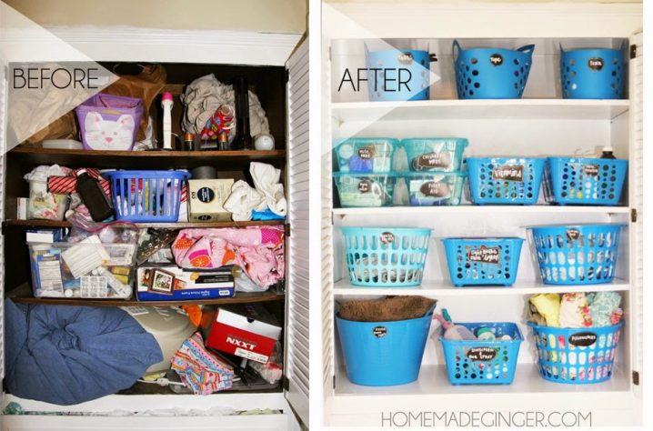 20+ Dollar Store Organization Ideas