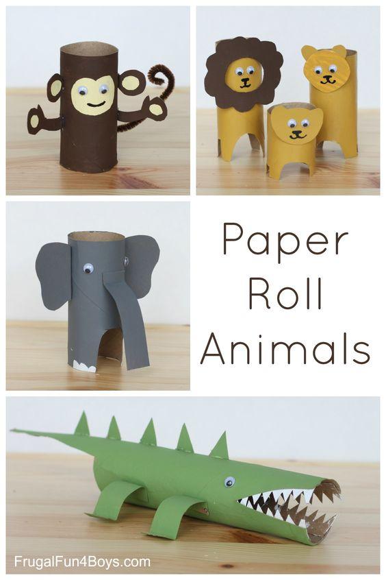 Toilet Paper Rolls Crafts 12