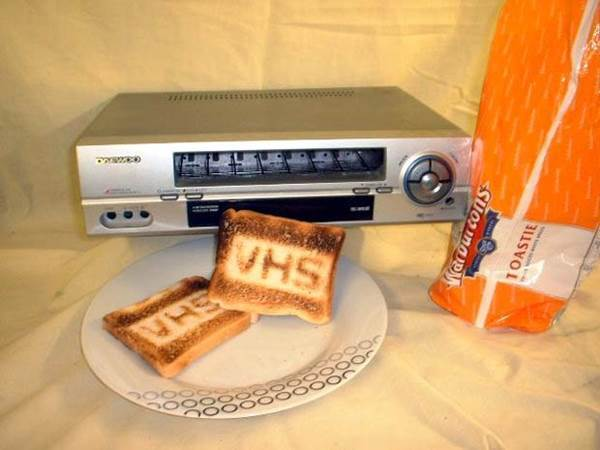 VHS video toaster