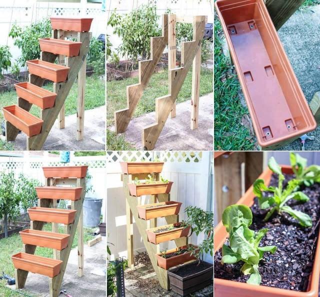 Vertical Vegetable Garden 25